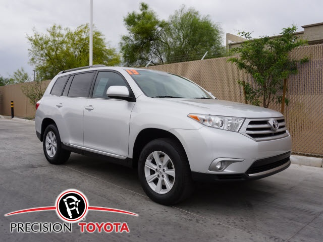 Certified Used Toyota Highlander SE